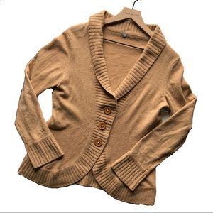 MARGARET O'LEARY Cashmere Button Front Cardigan